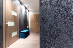Design de interiores - textura áspera da parede Fotos de Stock Royalty Free