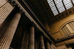 Design de interiores de uma arquitetura velha fotos de stock