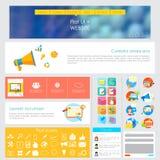 Design de l'interface d'utilisateur Photos libres de droits
