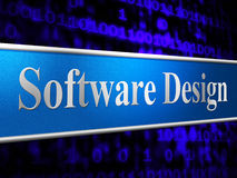 Design Designs Represents Diagrams Softwares And Model Stock Images