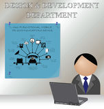 Design and development Stock Photography