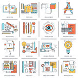 Design and Development. Stock Images