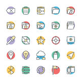 Design and Development Cool Vector Icons 5 Stock Photo
