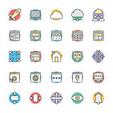 Design and Development Cool Vector Icons 2 Stock Photos