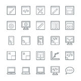 Design and Development Cool Vector Icons 1 Royalty Free Stock Photo