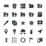 Design and Development Cool Vector Icons 5 Stock Image
