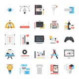 Design and Development Icons. Stock Images