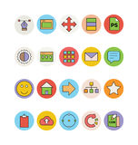 Design and Development Vector Icons 3 Royalty Free Stock Images