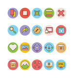 Design and Development Vector Icons 10 Royalty Free Stock Image