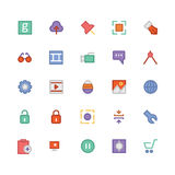 Design & Development Vector Icons 4 Stock Image