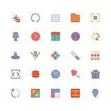 Design & Development Vector Icons 3 Stock Images
