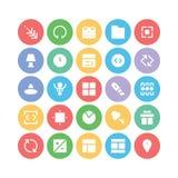 Design & Development Vector Icons 3 Stock Photography
