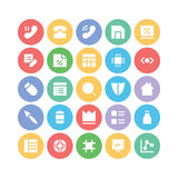 Design & Development Vector Icons 6 Royalty Free Stock Photo