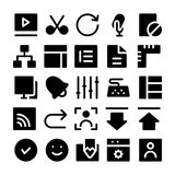 Design & Development Vector Icons 5 Royalty Free Stock Images