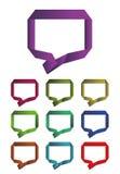 Design dialog box logo element Royalty Free Stock Photo