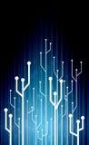 Design digital electrical Stock Image
