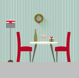 Design dining room 4 Royalty Free Stock Images