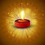 Design for diwali festival Stock Images