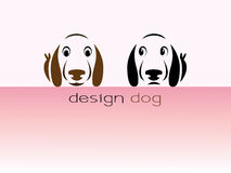 Design dog Royalty Free Stock Images