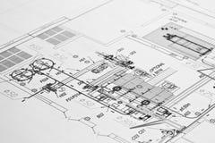 Design drawing Stock Image