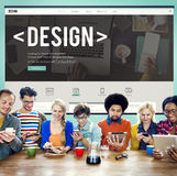 Design Drawing Outline Planning Purpose Creative Concept Royalty Free Stock Photo