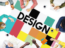 Design Drawing Outline Planning Purpose Creative Concept Royalty Free Stock Images