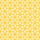 Design-einfarbiger dekorativer nahtloser Vektor-Muster-Hintergrund Lizenzfreies Stockfoto