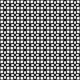 Design-einfarbiger dekorativer nahtloser Vektor-Muster-Hintergrund Stockfotografie