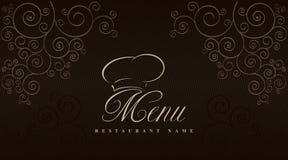 Design an elegant menu & label. Vector available Stock Photos
