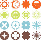 Design Element. S in different colors and shapes Royalty Free Stock Images
