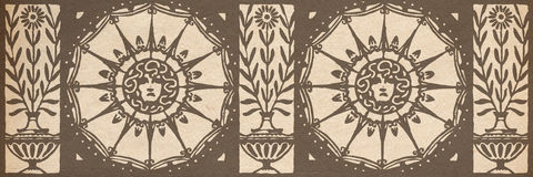 Design element. Abstract vintage decorative design element Royalty Free Stock Photography
