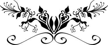Design element. Hand drawn decorative design element Stock Photography