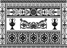 Design element. Design of a vector background in vintage style Stock Image