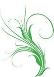 Design element. Curled grass - element for design stock illustration