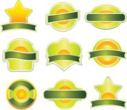 Design element. Vector set of design element Stock Image