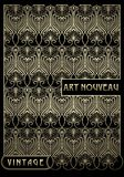 Design element in art nouveau style. High-quality hand-drawn work. Stock Photography