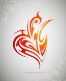 Design element as tattoo shape Royalty Free Stock Photos