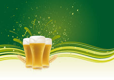 Design element for beer Stock Photography