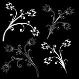 Design element on a black background Royalty Free Stock Photo