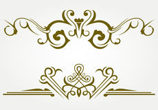Design element and page decoration Royalty Free Stock Photos