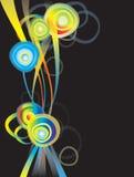 Design element with rainbow Royalty Free Stock Photos