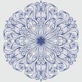 Design element round pattern Stock Photo