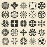 25 design  element set. Twenty five sample object Stock Photos