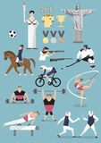 Design element for Sports Royalty Free Stock Photos