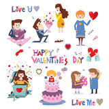 Design element for Valentine's day Royalty Free Stock Images