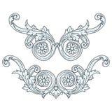 Design Element Vintage Royalty Free Stock Photos