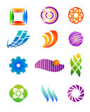 Design elements 04. Vector illustration of assorted colorful design elements and icons Stock Images