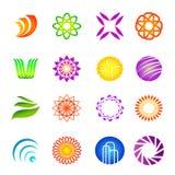 Design elements 06. Vector illustration of assorted colorful design elements Stock Illustration