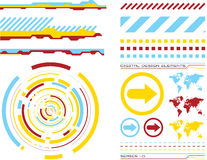 Design elements 1 Stock Image