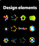 Design elements Royalty Free Stock Photography